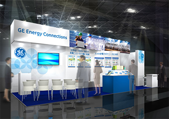PV EXPO2016 GEブース図